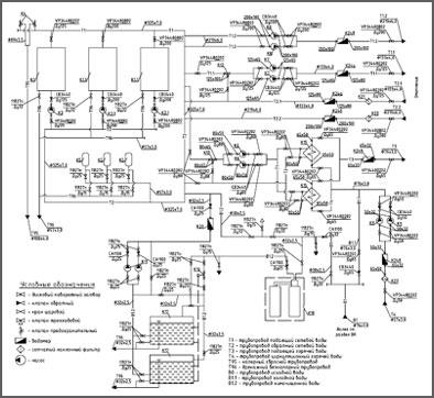 Тепловая схема котельной